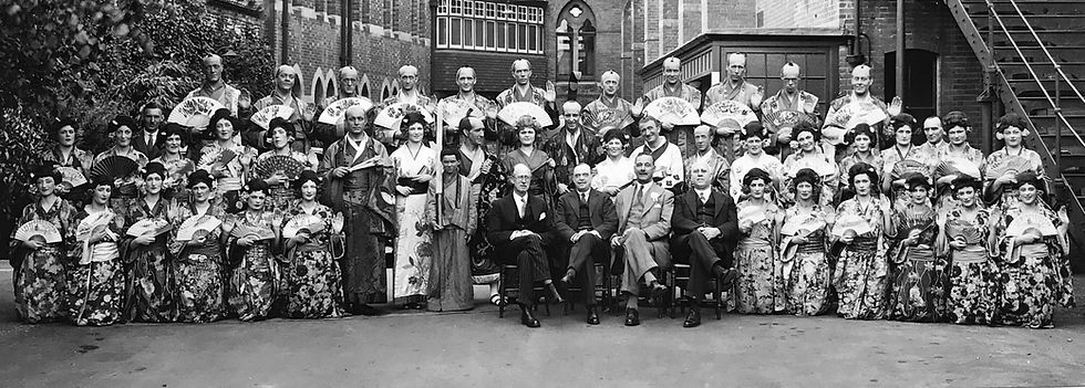 Winchester Amateur Operatic Society - WAOS - The Mikado - May 1936 - Guildhall Winchester