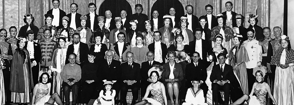Winchester Amateur Operatic Society - WAOS - La Vie Pariesenne - April 1969 - Guildhall Winchester