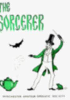 Programme cover for The Sorcerer - November 1983