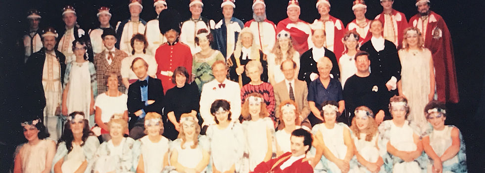 Winchester Amateur Operatic Society - WAOS - Iolanthe - April 1987 - Theatre Royal Winchester