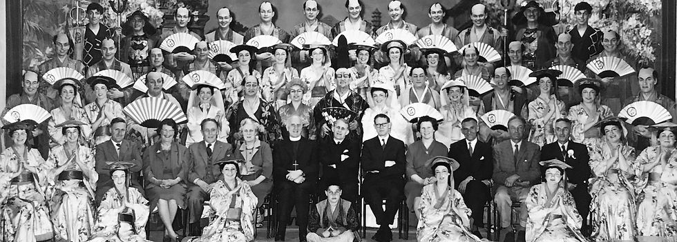 Winchester Amateur Operatic Society - WAOS - The Mikado - May 1962 - Guildhall Winchester