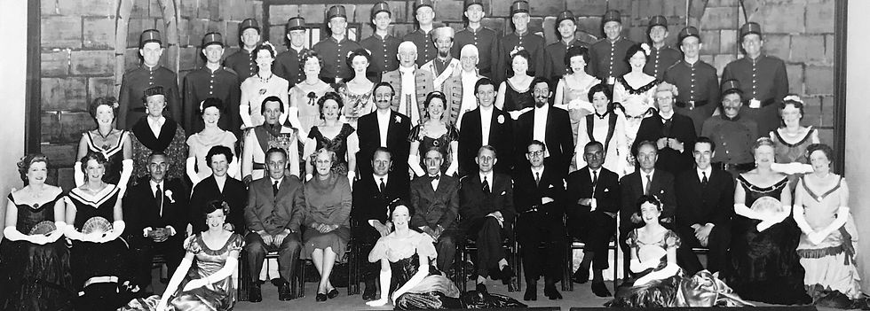 Winchester Amateur Operatic Society - WAOS - Die Fledermaus - May 1960 - Guildhall Winchester