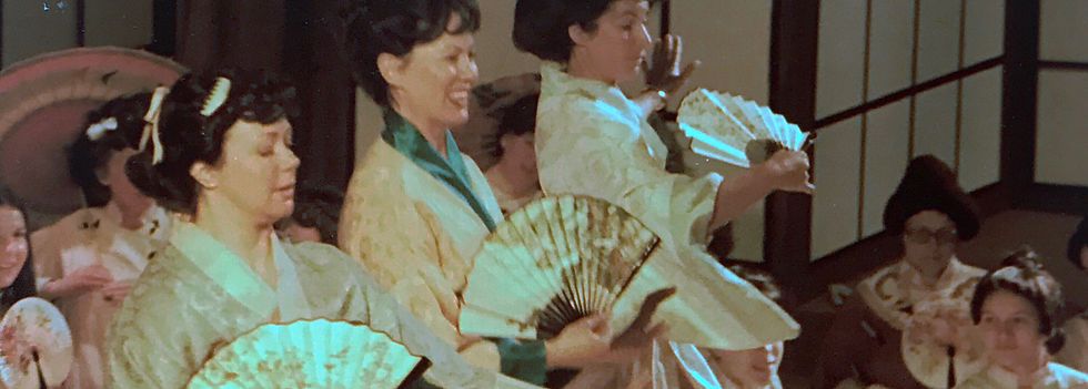 Winchester Amateur Operatic Society - WAOS - The Mikado - April 1984 - The Guildhall Winchester