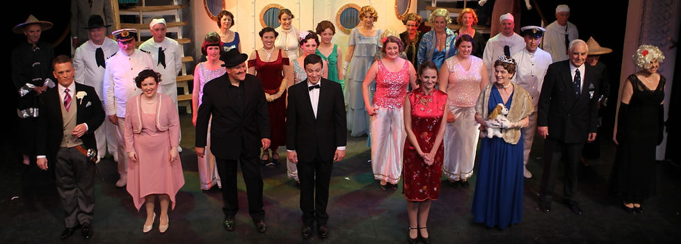 Winchester Operatic Society - WOS - Anything Goes - May 2011 - Theatre Royal Winchester