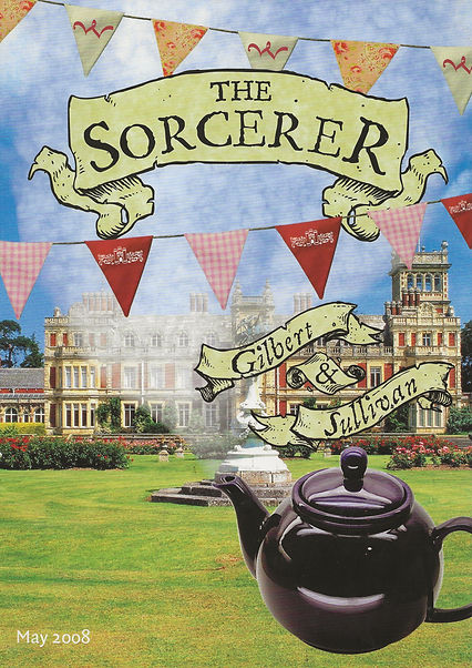 Programme of The Sourcerer - Winchester Operatic Society - May 2008