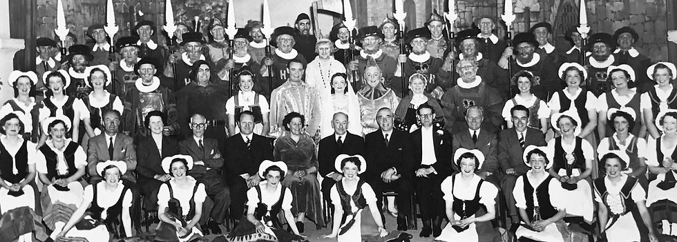 Winchester Amateur Operatic Society - WAOS - The Yeomen of the Guard - May 1955 - Guildhall Winchester