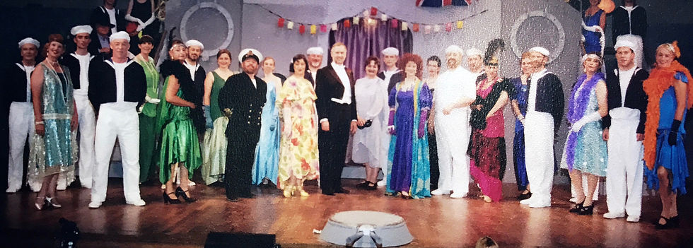 Winchester Amateur Operatic Society - WAOS - HMS Pinafore - June 2001 - New Hall, Winchester College