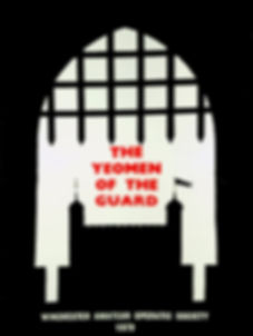 Programme cover for The Yeomen of the Guard 1979