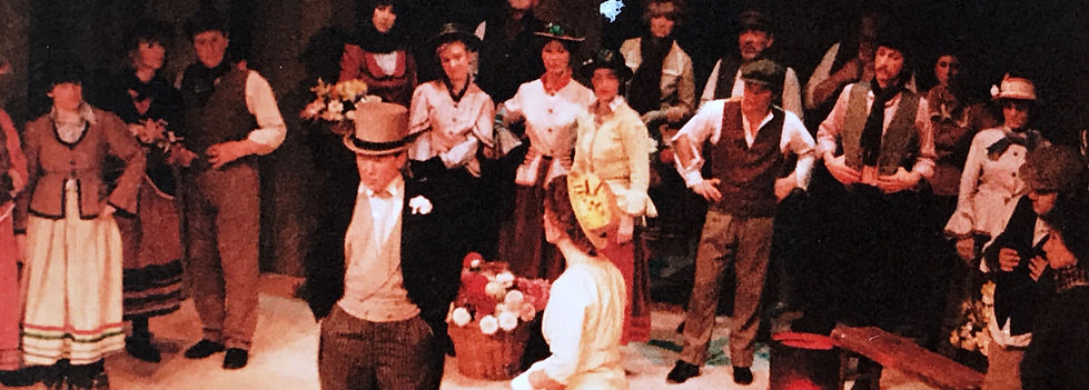 Winchester Amateur Operatic Society - WAOS - My Fair Lady - April 1985 - Guildhall Winchester