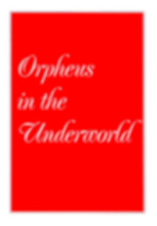 Programme cover for Orpheus in the Underworld