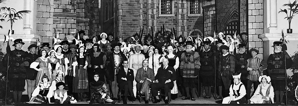 Winchester Amateur Operatic Society - WAOS - The yeomen of the Guard - May 1932 - Guildhall Winchester