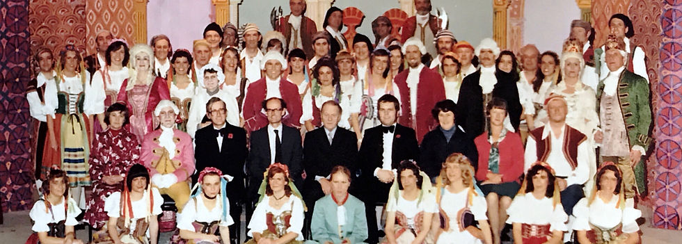Winchester Amateur Operatic Society - WAOS - The Gondoliers - November 1980 - Guildhall Winchester