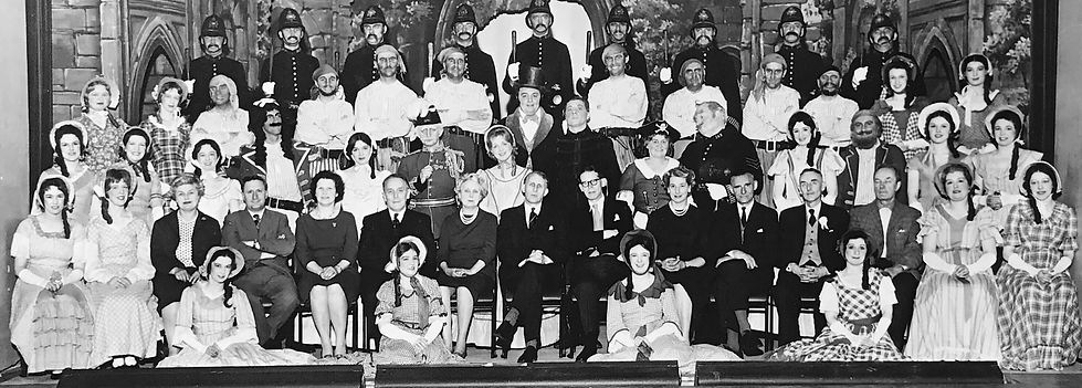 Winchester Amateur Operatic Society - WAOS - The Pirates of Penzance - May 1963 - Guildhall Winchester