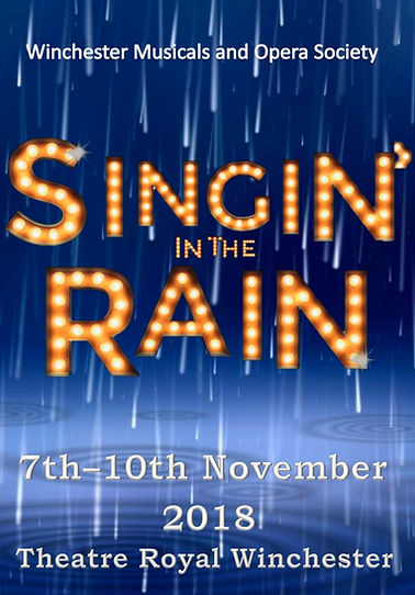 Singin' in the Rain Programme Cover - November 2018