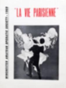 Programme cover for La Vie Parisienne