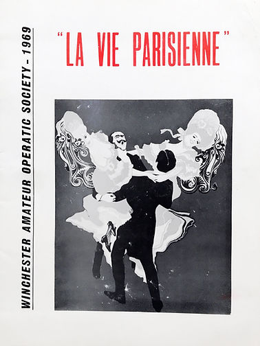 Programme cover for La Vie Parisienne