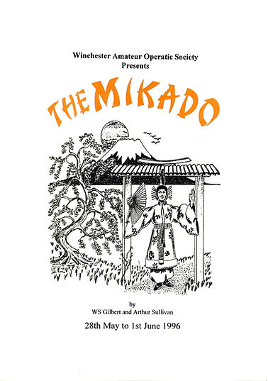 Programme cover for The Mikado