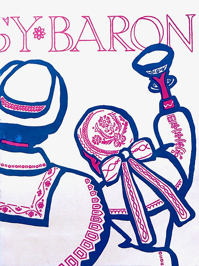 Programme cover for The Gypsy Baron 1961