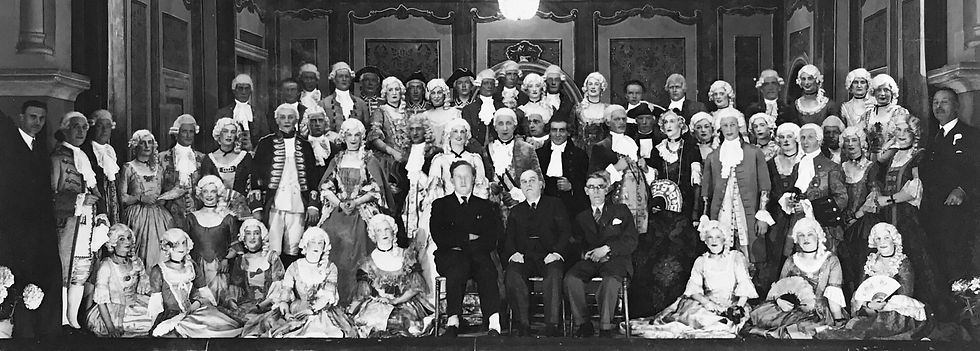 Winchester Amateur Operatic Society - WAOS - Monsieur Beaucaire - May 1939 - Guildhall Winchester