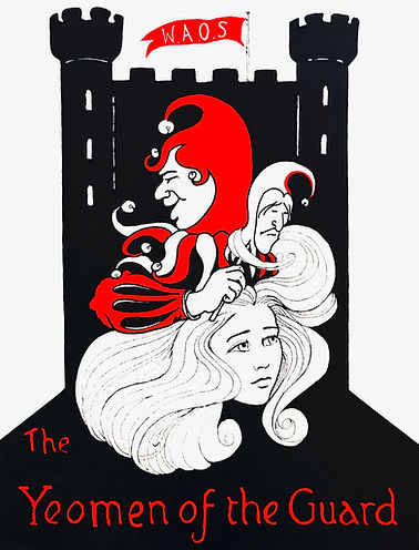 Programme cover for The Yeomen of the Guard