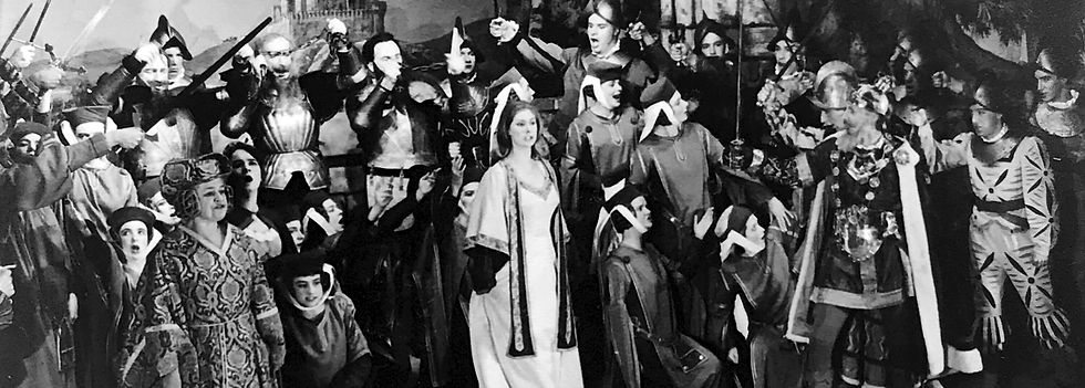 Winchester Amateur Operatic Society - WAOS - Princess Ida - May 1966 - Guildhall Winchester