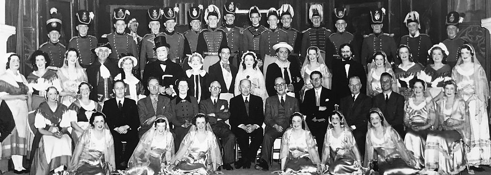 Winchester Amateur Operatic Society - WAOS - Ruddigore - May 1954 - Guildhall Winchester