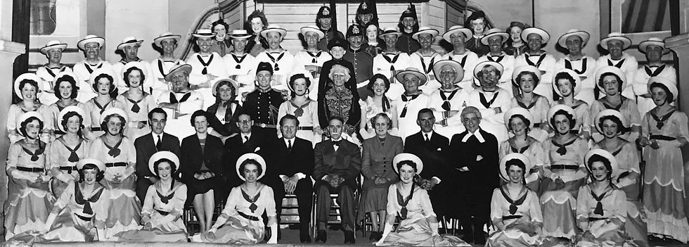 Winchester Amateur Operatic Society - WAOS - Trial by Jury/HMS Pinafore - May 1956 - Guildhall Winchester