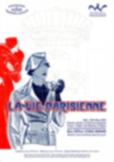 La Vie Parisienne poster, performed by Winchester Operatic Society 2005