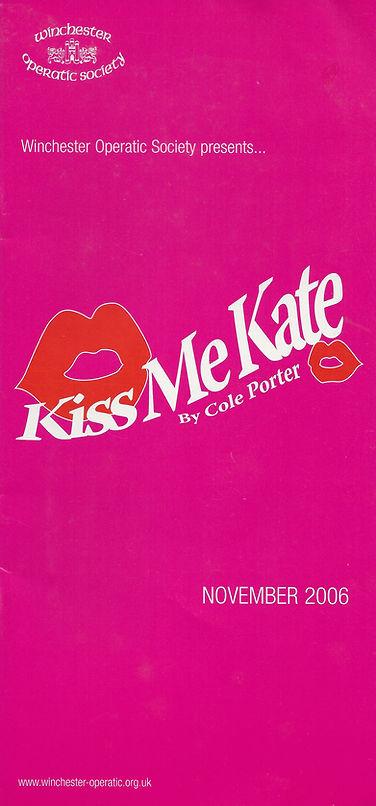 Wincheste Operatic Society - Kiss Me Kate - November 2006