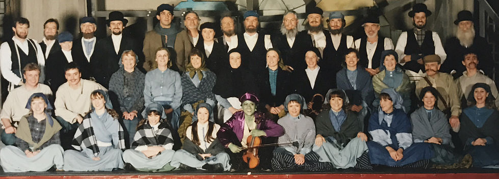 Winchester Amateur Operatic Society - WAOS - Fiddler on the Roof - May 1993 - Theatre Royal Winchester