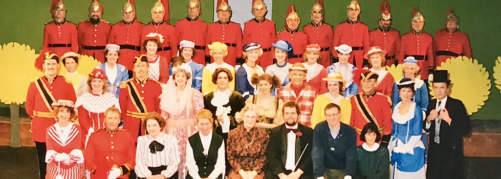 Winchester Amateur Operatic Society - WAOS - Patience - November 1988 - Theatre Royal Winchester