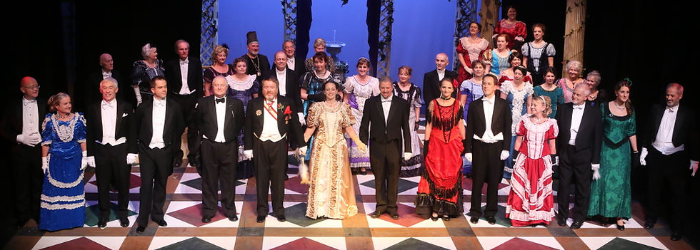 Winchester Operatic Society - WOS - The Merry Widow - November 2012 - Theatre Royal Winchester