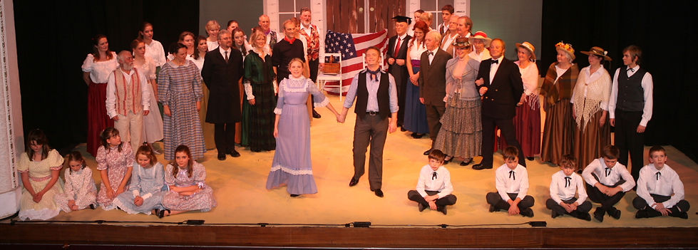 Winchester Operatic Society - WOS - Carousel - November 2008 - Theatre Royal Winchester