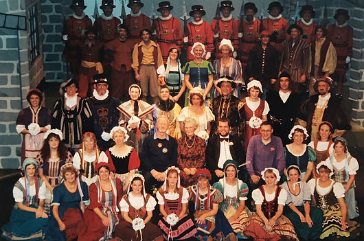 Winchester Amateur Operatic Society - WAOS - HMS Pinafore - May 2001 - New Hall, Winchester College