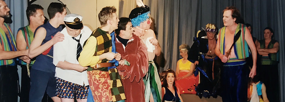 Winchester Amateur Operatic Society - WAOS - Dick Whittington - January 2000 - Guildhall Winchester