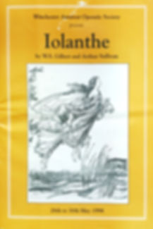 Programme cover for Iolanthe