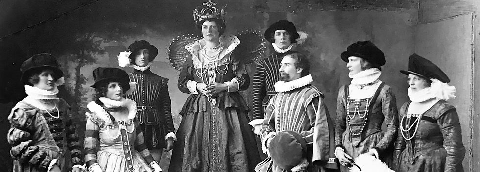 Winchester Amateur Operatic Society - WAOS - Merrie England - May 1929 - Guildhall Winchester
