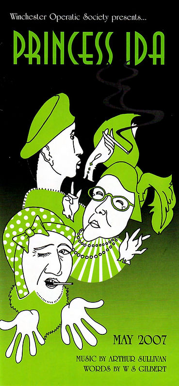 Programme for Princess Ida - Winchester Operatic Society - WOS - 2007
