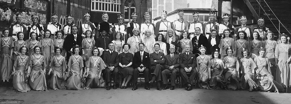 Winchester Amateur Operatic Society - WAOS - Iolanthe - May 1948 - Guildhall Winchester