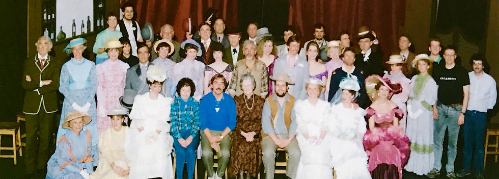 Winchester Amateur Operatic Society - WAOS - Calamity Jane - April 1989 - Theatre Royal Winchester
