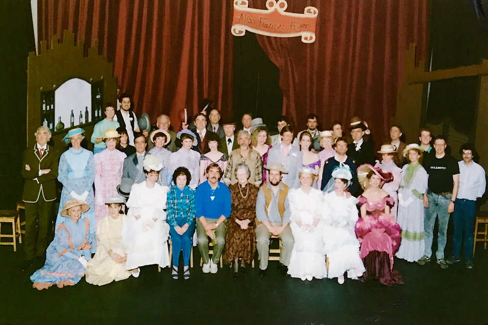 Winchster Amateur Operatic Society - Calamity Jane - April 1989 - Theatre Royal Wincheste - WAOS now WMOS