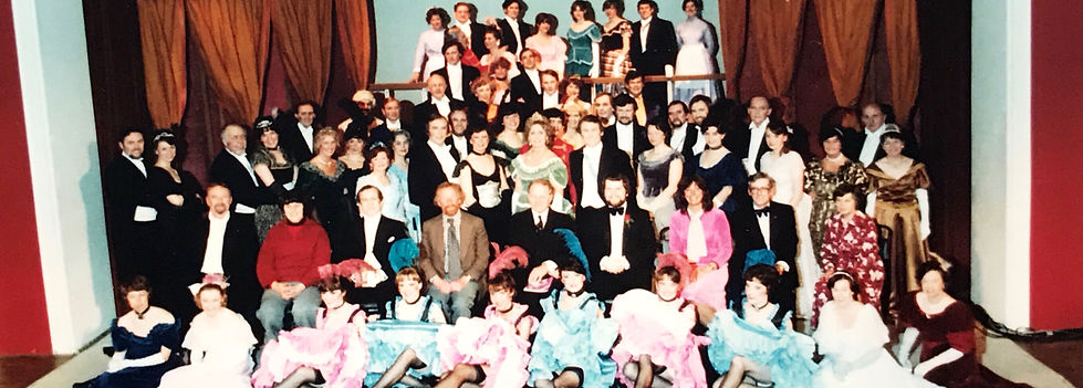 Winchester Amateur Operatic Society - WAOS - The Merry Widow - April 1981 - Guildhall Winchester