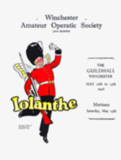 Programme cover for Iolanthe 1948