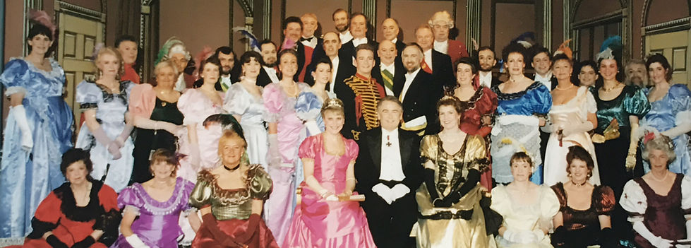 Winchester Amateur Operatic Society - WAOS - The Merry Widow - April 1997 - Guildhall Winchester
