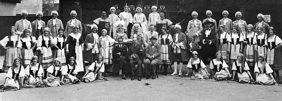 Winchester Amateur Operatic Society - WAOS - The Gondoliers - May 1930 - Guildhall Winchester
