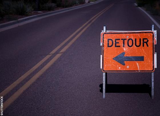 Beware of Detours