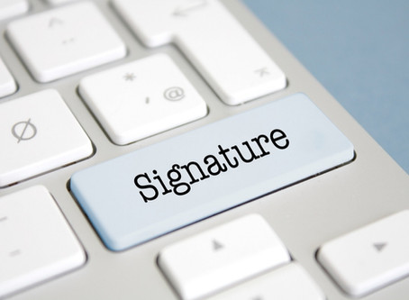 e-signatures closes the compliance loop