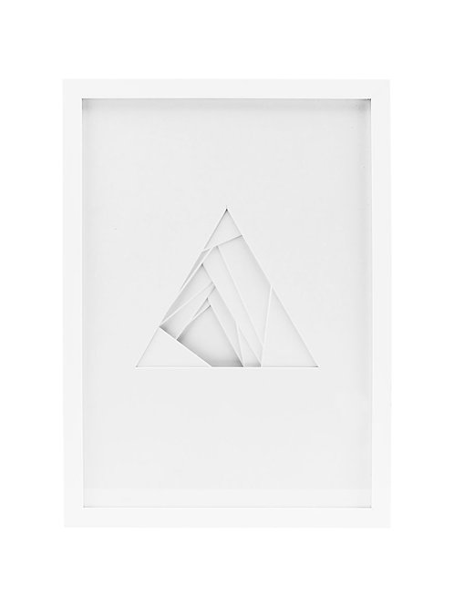 House Doctor art reliëf shapes/triangle