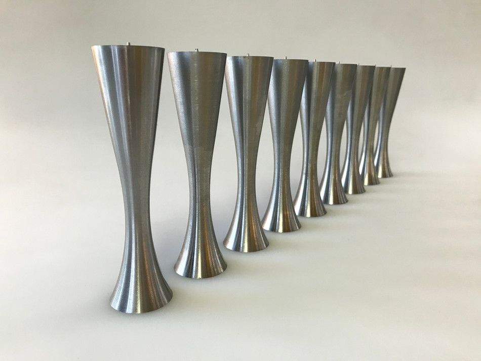 CNC-turned custom sofa legs