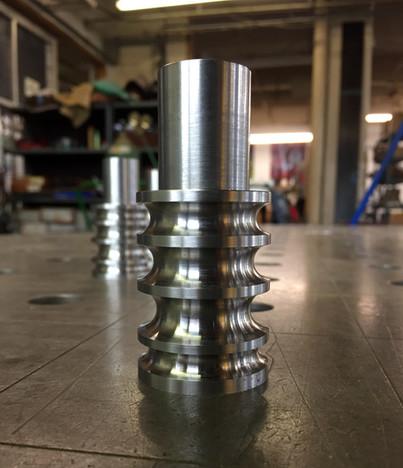 CNC-turned custom tooling
